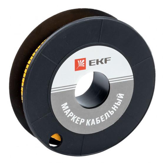 "Маркер кабельный 6,0 мм2 ""1"" (350 шт.) (ЕС-3) EKF PROxima"