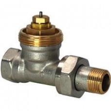 2-ходовые седельные радиаторные клапаны, NF, 2-х трубная система, PN10, DN15, kvs 0.10..0.89