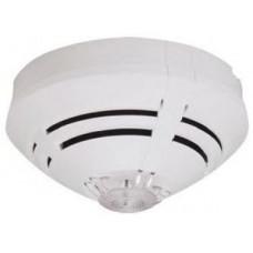 Адресный оптический дымовой извещатель серии IQ8Quad. Автоматическая адресация, светодиодный индикатор состояния, встроенный изолятор КЗ, возможно подключить ВУОС, питание от адресного шлейфа esserbus, цвет белый (RAL 9010).