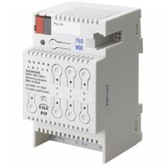 Выключатель нагрузки N 562/11, модульный (основной модуль), 3х230-400V AC 10A, автоподстройка под характер нагрузки, для установки на DIN-рейку, 3 ТЕ