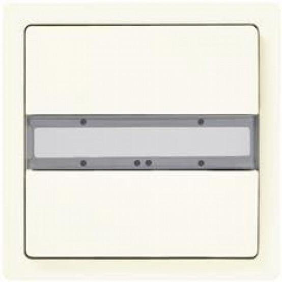 Одна пара клавиш, без светодиода состояния, титаново-белый