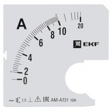 Шкала сменная для A721 10/5А-1,5 EKF PROxima